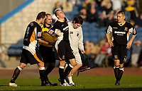 Photo: Jed Wee.<br />Burnley v Hull. Coca Cola Championship. 14/10/2006.<br /><br />Hull lose Dean Marney to a back injury.