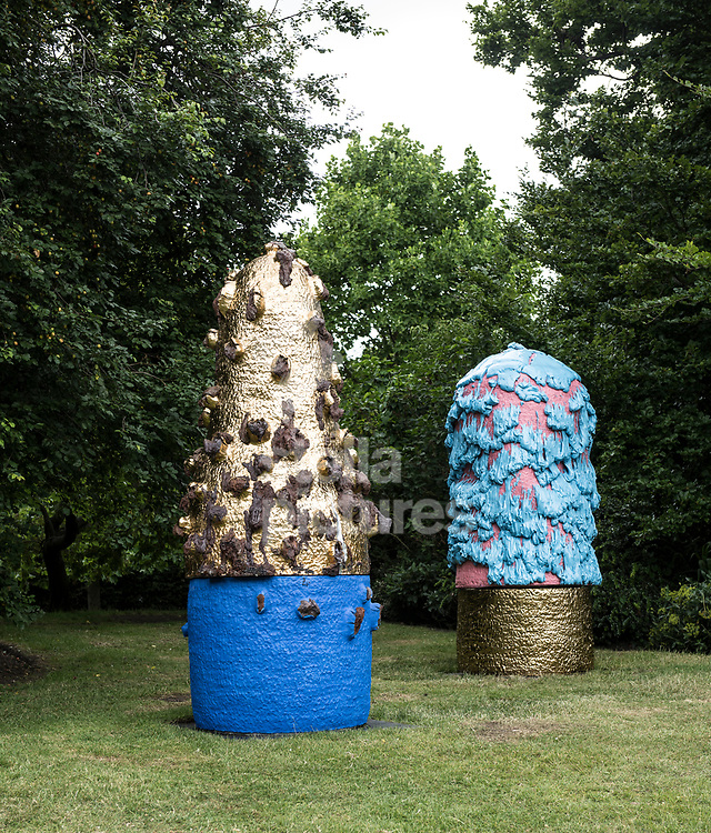 Takuro Kuwata,<br /> Untitled (2016)<br /> Part of Frieze Sculpture at Regent's Park, Marylebone<br /> Picture by Daniel Hambury/Stella Pictures Ltd 07813022858<br /> 03/07/2017