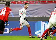 Ivan Rakitic of Sevilla FC during the UEFA Champions League, Group E football match between Stade Rennais and Sevilla FC (FC Seville) on December 8, 2020 at Roazhon Park in Rennes, France - Photo Jean Catuffe / ProSportsImages / DPPI