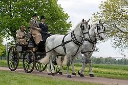 Prince Michael of Kent during the Royal Windsor Horse Show at Windsor Castle, Berkshire.