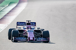 February 28, 2019 - Montmelo, Barcelona, Calatonia, Spain - Lance Stroll of SportPesa Racing Point F1 Team seen in action during the 3rd journey of second week F1 Test Days in Montmelo circuit. (Credit Image: © Javier Martinez De La Puente/SOPA Images via ZUMA Wire)