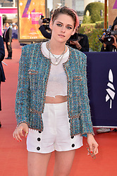 File photo dated September 14, 2019 of Kristen Stewart attending the Closing Ceremony of the 45th Deauville American Film Festival in Deauville, France. Twilight actress Kristen Stewart will play Princess Diana in a new film about the late princess's break-up from Prince Charles, according to reports. Stewart will star in Spencer, set in the early 1990s, which will be scripted by Peaky Blinders creator Steven Knight, Hollywood news sites say. Photo by Julien Reynaud/APS-Medias/ABACAPRESS.COM