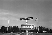 Duitsland, Stuttgart, 10-10-1987Hoofdkwartier amerikaanse leger in europa. Headquarters united states european command.Foto: Flip Franssen/Hollandse Hoogte