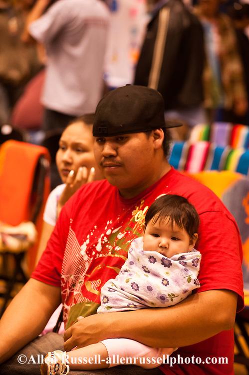 Native American Family, American Indian Council Powwow, Montana State University, Bozeman, Montana