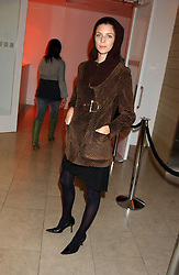 Model LIBERTY ROSS at a cocktail party hosted by MAC cosmetics to kick off London Fashion Week at The Hospital, 22 Endell Street London on 18th September 2005.At the event, top model Linda Evangelista presented Ken Livingston the Lord Mayor of London with a cheque for £100,000 in aid of the Loomba Trust that aims to privide education to orphaned children through a natural disaster or through HIV/AIDS.<br /><br />NON EXCLUSIVE - WORLD RIGHTS