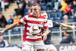 Hamilton's Darian Mackinnon.<br /> Falkirk 1 v 2 Hamilton, Scottish Championship 31/8/2013.<br /> ©Michael Schofield.
