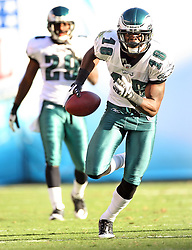 SAN DIEGO, CA - NOVEMBER 15: Jeremy Maclin of the Philadelphia Eagles during a game against the San Diego Chargers on November 14, 2009 at Qualcomm Stadium in San Diego, California. The Chargers won 31-23. (Photo by Hunter Martin)