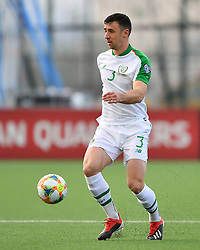 Republic of Ireland's Enda Stevens in action during the UEFA Euro 2020 Qualifying, Group D match at the Victoria Stadium, Gibraltar.