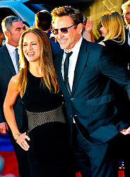 """Susan Downey and Robert Downey Jr. 04/12/2016 World Premiere of Marvel's """"Captain America: Civil War"""" held at Dolby Theater in Hollywood, CA. EXPA Pictures © 2016, PhotoCredit: EXPA/ Photoshot/ Albert L. Ortega<br /> <br /> *****ATTENTION - for AUT, SLO, CRO, SRB, BIH, MAZ, SUI only*****"""