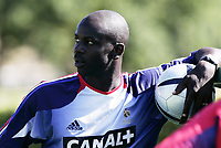 FOOTBALL - MONDIAL 2006 - FRANCE TEAM TRAINING IN CLAIREFONTAINE - 30/08/2005  LILIAN THURAM - <br /> PHOTO GUY JEFFROY / DIGITALSPORT *** Local Caption *** 40001796