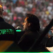 NLD/Amsterdam/20070602 - Toppers in Concert 2007, Franky Rampen aan het zingen
