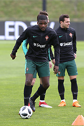 March 20, 2018 - Lisbon, Lisbon, Portugal - Portugal midfielder William Carvalho during training session at Cidade do Futebol training camp in Oeiras, outskirts of Lisbon, on March 20, 2018 ahead of the friendly football match in Zurich against Egypt on March 23. (Credit Image: © Dpi/NurPhoto via ZUMA Press)