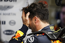 April 27, 2018 - Baku, Azerbaijan - RICCIARDO Daniel (aus), Aston Martin Red Bull Tag Heuer RB14, portrait during the 2018 Formula One World Championship, Grand Prix of Europe in Azerbaijan from April 26 to 29 in Baku - Photo  /  Motorsports: World Championship; 2018; Grand Prix Azerbaijan, Grand Prix of Europe, Formula 1 2018 Azerbaijan Grand Prix, (Credit Image: © Hoch Zwei via ZUMA Wire)