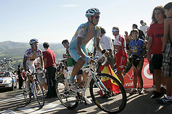 29.08.2011, Andalusien, ESP, LA VUELTA 2011, Stage 17, im Bild Andrey Kashechkin (r) and Koen de Kort (l) during the stage of La Vuelta 2011 between Faustino V and Pena Cabarga.September 7,2011. EXPA Pictures © 2011, PhotoCredit: EXPA/ Alterphoto/ Paola Otero +++++ ATTENTION - OUT OF SPAIN/(ESP) +++++