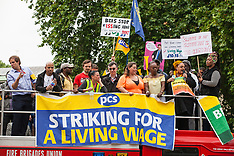 2019-06-19 PCS BEIS outsourced workers' strike