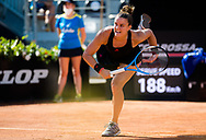 Maria Sakkari of Greece in action during the first round of the 2021 Internazionali BNL d'Italia, WTA 1000 tennis tournament on May 10, 2021 at Foro Italico in Rome, Italy - Photo Rob Prange / Spain ProSportsImages / DPPI / ProSportsImages / DPPI