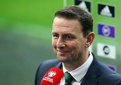 File photo dated 31-03-2021 of Northern Ireland manager Ian Baraclough. Northern Ireland manager Ian Baraclough has told his players to forget about the frustration of Saturday's defeat to Switzerland as they prepare to face Bulgaria in Sofia on Tuesday. Issue date: Monday October 11, 2021.