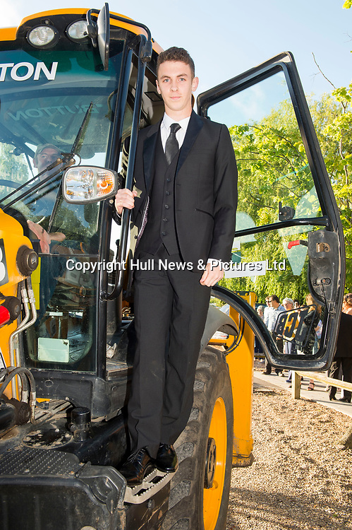 27 June 2019: Somercotes Academy Year 11 prom at the Brackenborough Hotel near Louth.<br /> Dan Sharp.<br /> Picture: Sean Spencer/Hull News & Pictures Ltd<br /> 01482 210267/07976 433960<br /> www.hullnews.co.uk         sean@hullnews.co.uk