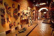 MEXICO, COLONIAL CITIES, ZACATECAS One of Mexico's richest silver mining towns, Museo Pedro Coronel with famous collection of Mexican masks