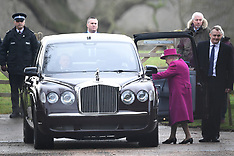 Members of The Royal Family attend Church at Sandringham - 30 Dec 2018