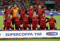 24-08-2008 Milano Italy sport calcio Inter-Roma Supercoppa Italiana 2008 nella foto :  formazine roma  ph. Davide Elias / Agenzia Insidefoto