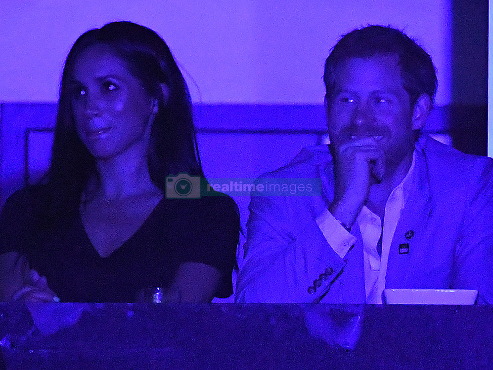 Prince Harry and Meghan Markle's Mother, Doria Ragland attend The Invictus Games 2017 Closing Ceremony at the Air Canada Centre, Toronto, Ontario, Canada, on the 30th September 2017. 01 Oct 2017 Pictured: Prince Harry and Meghan Markle attend The Invictus Games 2017 Closing Ceremony at the Air Canada Centre, Toronto, Ontario, Canada, on the 30th September 2017. Picture by James Whatling. Photo credit: James Whatling / MEGA TheMegaAgency.com +1 888 505 6342
