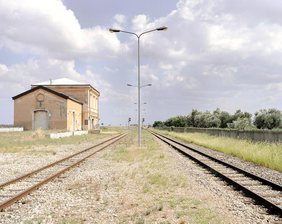 Stazione Marinella. Bari, 11 agosto 2013. Christian Mantuano / OneShot