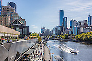 Southgate Promenade Along the Yarra River