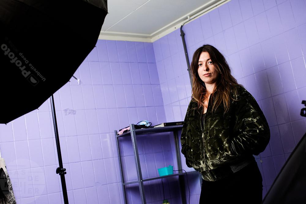 Nina Goedegebure, een van de makers Installation48, een project waarin vier duo's in 48 dagen een interactieve installatie moeten maken dat 48 uur te zien is.