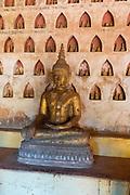 Buddha statues,  Vientiane, Laos.