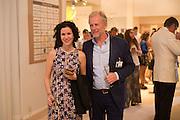 MOLLIE DENT-BROCKLEHURST; RICHARD HUDSON, The Neo Romantic Art Gala in aid of the NSPCC. Masterpiece. Chelsea. London.  30 June 2015