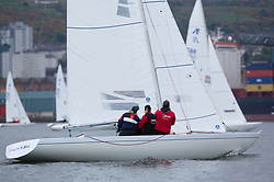 Day1, IRL 1033, Etchells, Living on the Etch, RGYC<br /> <br /> The Scottish Series, hosted by the Clyde Cruising Club is an annual series of races for sailing yachts held each spring. Normally held in Loch Fyne the event moved to three Clyde locations due to current restrictions. <br /> <br /> Light winds did not deter the racing taking place at East Patch, Inverkip and off Largs over the bank holiday weekend 28-30 May. <br /> <br /> Image Credit : Marc Turner / CCC