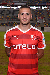 02.07.2015, Esprit Arena, Duesseldorf, GER, 2. FBL, Fortuna Duesseldorf, Fototermin, im Bild Sercan Sararer ( Fortuna Duesseldorf / Portrait ) // during the official Team and Portrait Photoshoot of German 2nd Bundesliga Club Fortuna Duesseldorf at the Esprit Arena in Duesseldorf, Germany on 2015/07/02. EXPA Pictures © 2015, PhotoCredit: EXPA/ Eibner-Pressefoto/ Thienel<br /> <br /> *****ATTENTION - OUT of GER*****