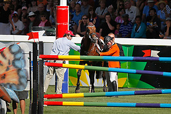 Hoorn Angelique (NED) - Blauwendraad's O'Brian<br /> BMO Nations Cup<br /> Spruce Meadows Masters - Calgary 2009<br /> © Dirk Caremans