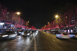 November 20, 2018 - Paris, France - Illustrations Illuminations Champs Elysees (Credit Image: © Panoramic via ZUMA Press)