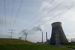 The Essent Energie power station stands in Geertruidenberg, Netherlands, on Monday, March 22, 2010. Essent Energie is owned by RWE AG. (Photo © Jock Fistick)