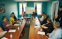 Navigating Recovery offices in Laconia, NH.  Karen Bobotas for the Laconia Daily Sun