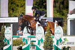 Ost Klaas, BEL, Chocolate's Girl Z<br /> BK Young Horses 2020<br /> © Hippo Foto - Sharon Vandeput<br /> 6/09/20