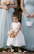 Angry flower girl