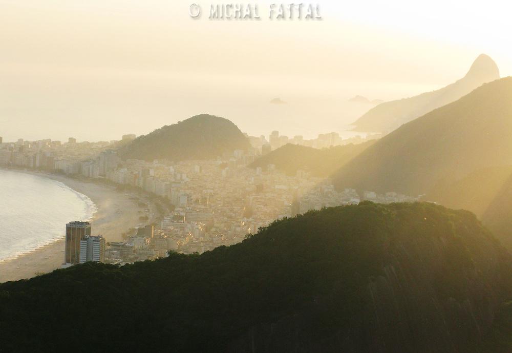 General view of Rio de Janeiro.