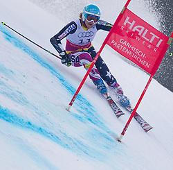 17.02.2011, Kandahar, Garmisch Partenkirchen, GER, FIS Alpin Ski WM 2011, GAP, Riesenslalom, im Bild Julia Mancuso (USA) // Julia Mancuso (USA) during Giant Slalom Fis Alpine Ski World Championships in Garmisch Partenkirchen, Germany on 17/2/2011. EXPA Pictures © 2011, PhotoCredit: EXPA/ M. Gunn