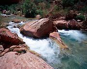 Havasu Creek, Colorado River mile 157, Grand Canyon National Park/Havasupai Indian Reservation, Arizona, USA; 8 May 2008; Pentax 67II, 45mm lens, Velvia 100, polarizer