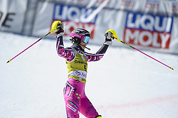 March 16, 2019 - El Tarter, Andorra - Frida Hansdotter of Sweden Ski Team, during Ladies' Giant Slalom Audi FIS Ski World Cup race, on March 16, 2019 in El Tarter, Andorra. (Credit Image: © Joan Cros/NurPhoto via ZUMA Press)