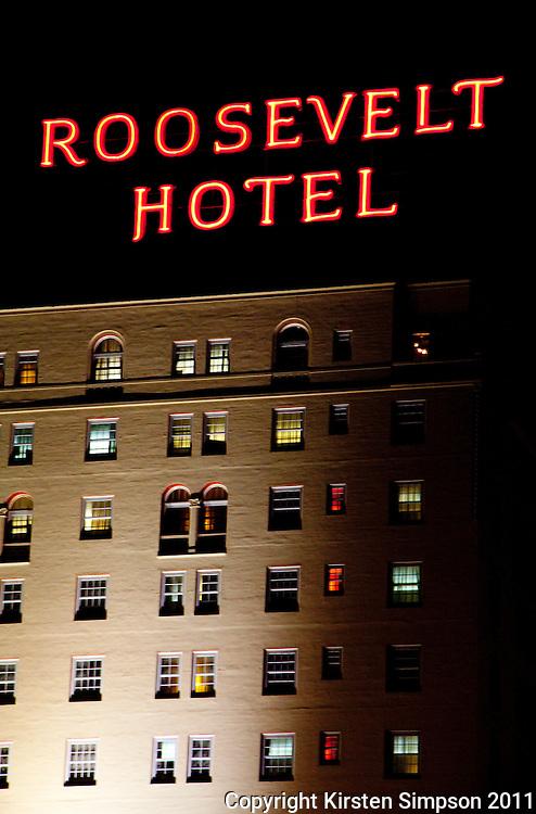 Hollywood Roosevelt Hotel in LA
