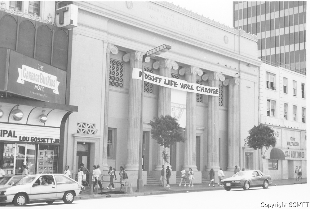 1987 Hollywood Live Entertainment Nightclub on Hollywood Blvd.