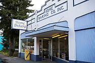 Det finska bageriet Home Bakery i Astoria, Oregon. <br /> Bageriet startades 1910 av tre finska emigranter Elmer Wallo, Charlie Jarvanin och Arthur A. Tilander. I dag drivs bageriet av Arthur A. Tilanders barnbarn James Tilander.<br /> <br /> Foto: Christina Sjögren
