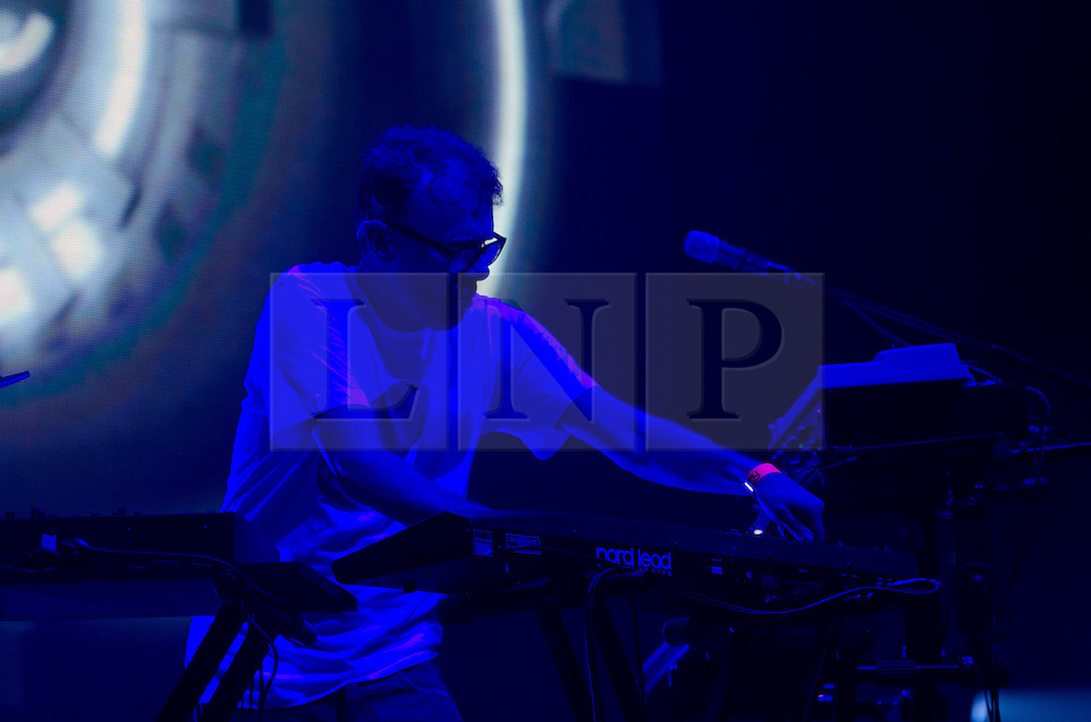 © Licensed to London News Pictures. 21/04/2012. London, UK. Leftfield perform live at the O2 Brixton Academy to help raise funds for the charity War Child.    Photo credit : Richard Isaac/LNP