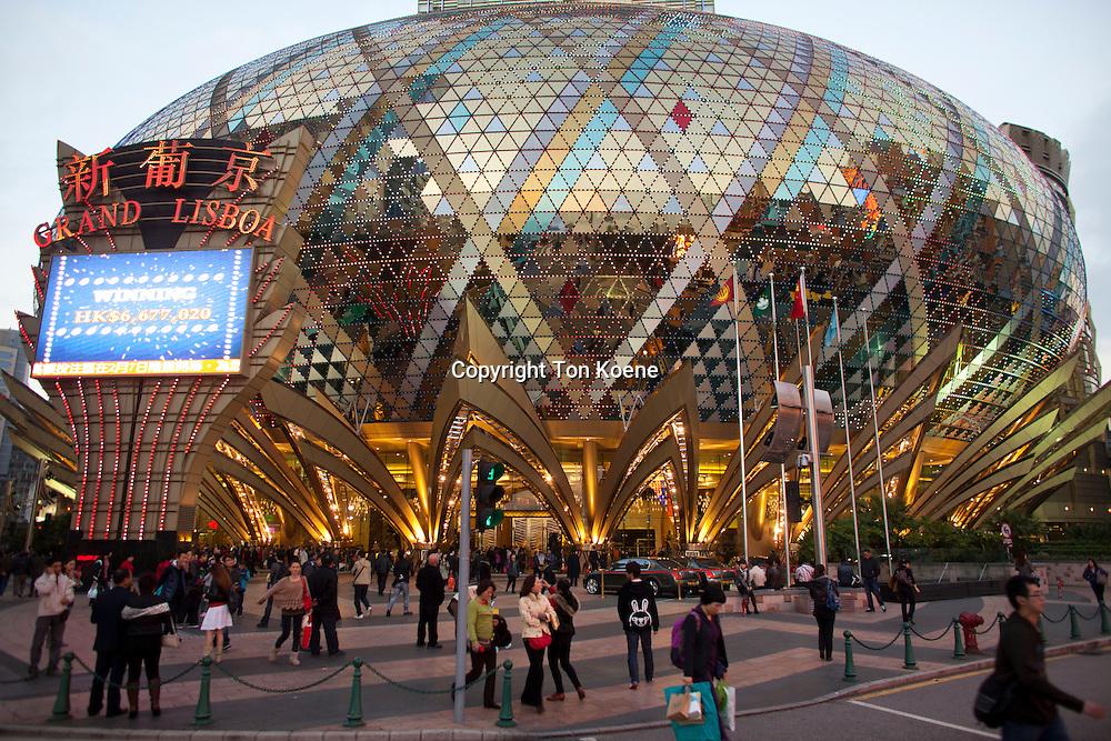 grand lisboa is a casino in Macau, China