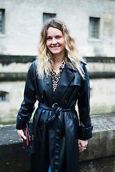 Ekaterina Mukhina is seen during Paris Fashion Week Womenswear Fall/Winter 2018/2019, on March 4, 2018 in Paris, France.  (Photo by Nataliya Petrova/NurPhoto/Sipa USA)
