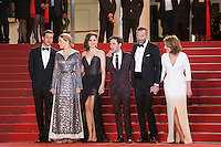 The cast at the gala screening for the film It's Only the End of the World (Juste La Fin Du Monde) at the 69th Cannes Film Festival, Thursday 19th  May 2016, Cannes, France. Photography: Doreen Kennedy